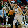 Lunenburg's Kelly Gearin in action during the Division 3 Central Mass. final against Grafton at Worcester Polytechnic Institute on Saturday, March 11, 2017. Lunenburg would defeat Grafton 55-54 in overtime. SENTINEL & ENTERPRISE / Ashley Green