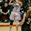 Lunenburg's Elise Lilly in action during the Division 3 Central Mass. final against Grafton at Worcester Polytechnic Institute on Saturday, March 11, 2017. Lunenburg would defeat Grafton 55-54 in overtime. SENTINEL & ENTERPRISE / Ashley Green