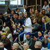 Lunenburg fans cheer on the team during the game against Grafton in the Division 3 Central Mass. final at Worcester Polytechnic Institute on Saturday, March 11, 2017. SENTINEL & ENTERPRISE / Ashley Green