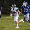 Oakmont's Justin Jameson runs the ball during the game against Lunenburg on Friday evening. SENTINEL & ENTERPRISE / Ashley Green