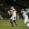 Oakmont quarterback Shamus Gorman throws a pass during the game against Lunenburg on Friday evening. SENTINEL & ENTERPRISE / Ashley Green