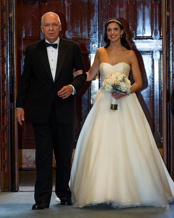 Nicole's wedding ceremony and reception