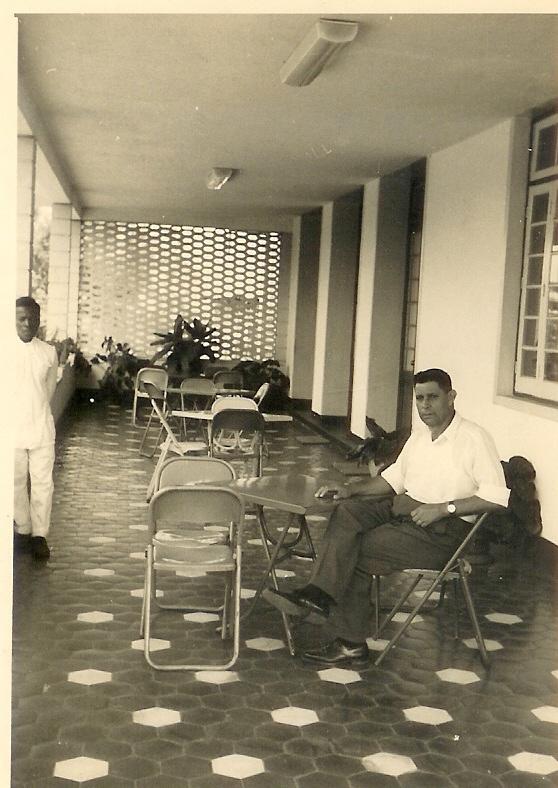 "Andrada, Agosto 1962 - Varanda Casa de Transito Avelino Dinis - ""Samokinda"""