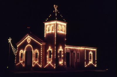 Igreja no Natal 1973