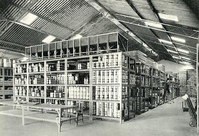 Andrada - Armazém e oficinas de material