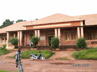 Hospital Nzagi/Andrada - entrada principal