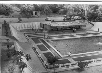 Piscina de Andrada - vista geral das piscinas.