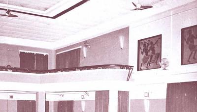 Interior - Sala de cinema e festas