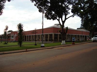 Os antigos escritórios da Diamang