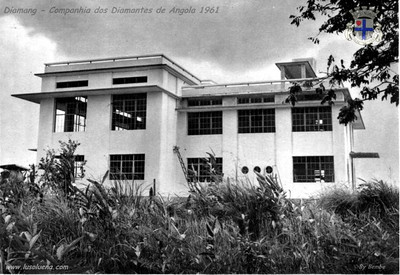 Radio - Centro Emissor - Dundo 1961