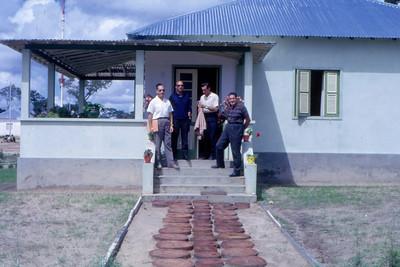 1967,  ?, Valente, Albino e Dr. Santos David
