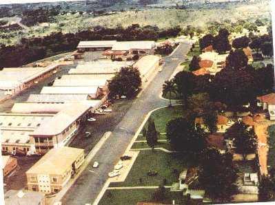 Dundo 1964 - zona das oficinas e armazéns
