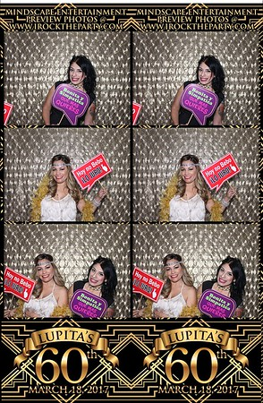 Lupitas 60th Birthday - Photo Booth Pictures