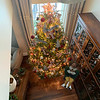 Kati enjoys decorating with daughter, Mary. Their 12-foot tree is loaded with red and white snowballs and animals, as well as red berries and red and white bows throughout, and, of course, Buddy the Elf.