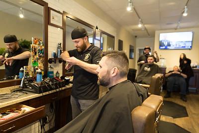 Lutz Wedding - Barber Shop
