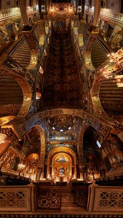Chapelle palatine (plafond)