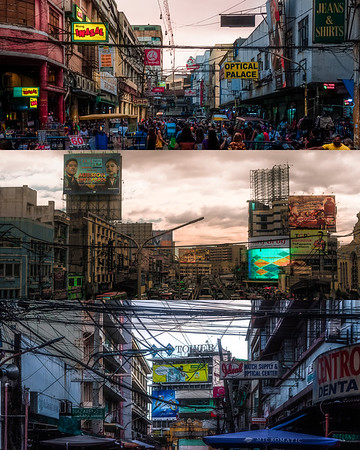 COLLAGE: DYSTOPIAN QUIAPO