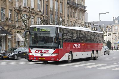 CFL FZ8864 Avenue de la Liberte Luxembourg Feb 18