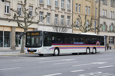 Autocars Altmann BU9999 Avenue de la Liberte Luxembourg Feb 18