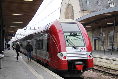 CFL 2221 Luxembourg Central Station Feb 18