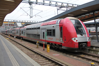 CFL 2210 Luxembourg Central Station Feb 18