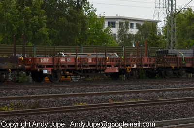 K Coded (82) (Ordinary flat wagon with separate axles)