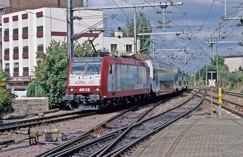 CFL4013 leaves Bettembourg on 15 September 2009 with RB4739 from Athus