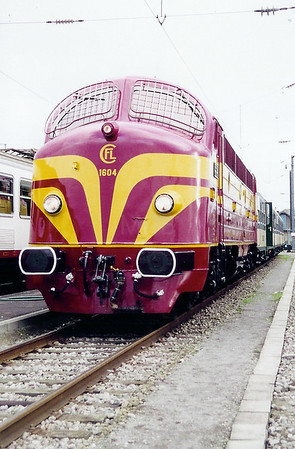1604 at Luxembourg Depot on 18th November 2000