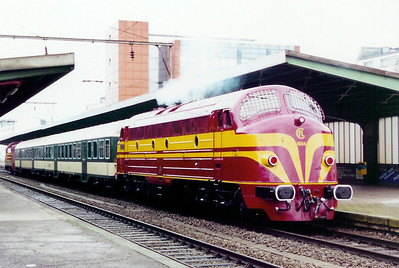 1604 at Esch Sur Alzette on 18th November 2000