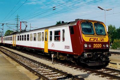 2020 at Rodange on 1st September 2003