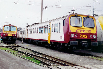 2012 at Luxembourg Depot on 18th November 2000