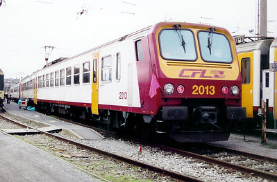 2013 at Luxembourg Depot on 18th November 2000