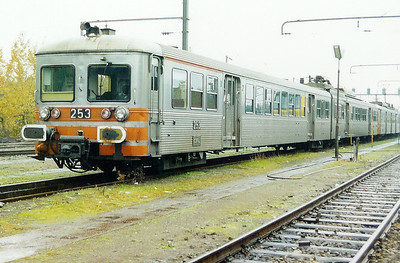 253 at Luxembourg Depot on 24th November 2001