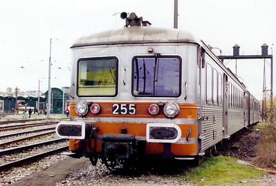 255 at Luxembourg Depot on 18th November 2000