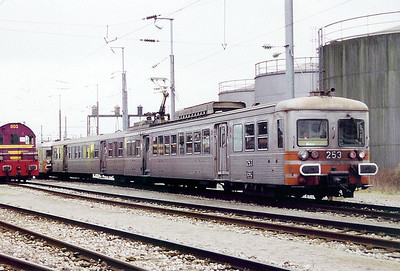 253 at Luxembourg Depot on 18th November 2000