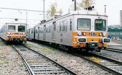 262 at Luxembourg Depot on 31st October 1998