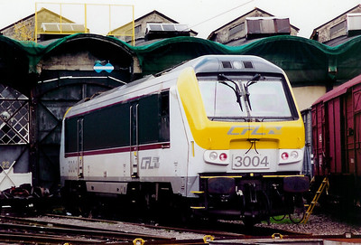 3004 at Luxembourg Depot on 18th November 2000