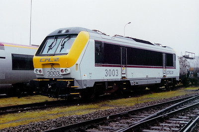 3003 at Luxembourg Depot on 24th November 2001
