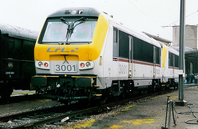 3001 at Luxembourg Depot on 31st October 1998