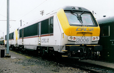 3006 at Luxembourg Depot on 31st October 1998