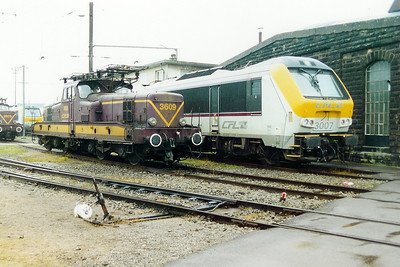3609 at Luxembourg Depot on 24th November 2001