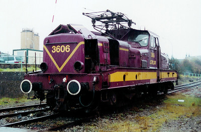 3606 at Luxembourg Depot on 24th November 2001