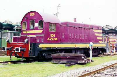 806 at Luxembourg Depot on 18th November 2000