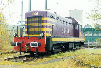 806 at Luxembourg Depot on 24th November 2001