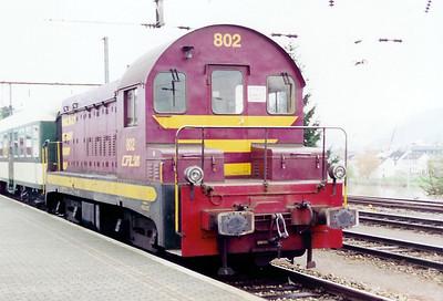 802 at Wasserbillig on 18th November 2000