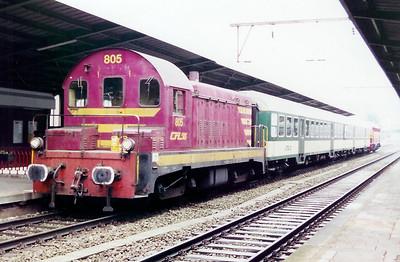 805 at Esch Sur Alzette on 18th November 2000