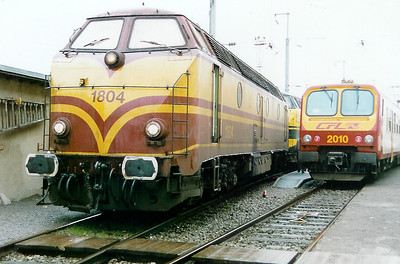 1804 at Luxembourg Depot on 31st October 1998