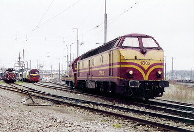 1803 at Luxembourg Depot on 18th November 2000