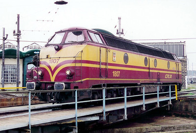 1807 at Luxembourg Depot on 18th November 2000