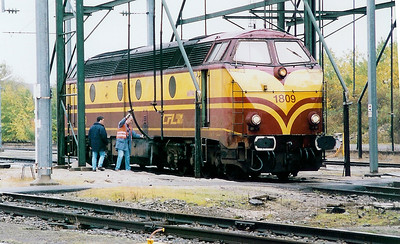 1809 at Luxembourg Depot on 31st October 1998